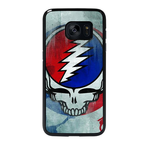 GRATEFUL DEAD ART LOGO-samsung-galaxy-S7-edge-case-cover
