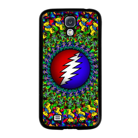GRATEFUL DEAD DANCING BEARS LOGO-samsung-galaxy-S4-case-cover