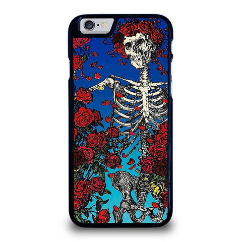 GRATEFUL DEAD SKULL AND ROSE-iphone-6-6s-case-cover