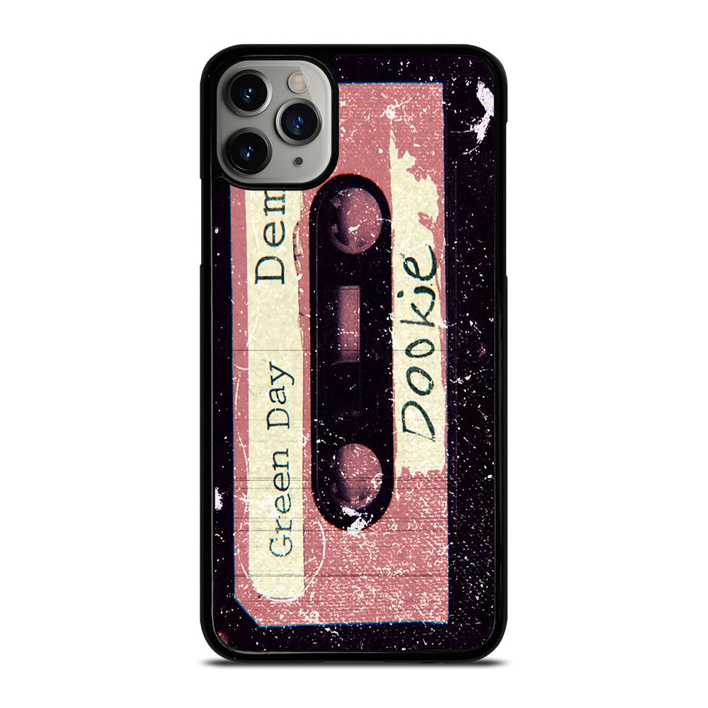 GREEN DAY EARLY DOOKIE DEMO TAPE iPhone 6//6S 7 8 Plus X//XS Max XR Case Cover