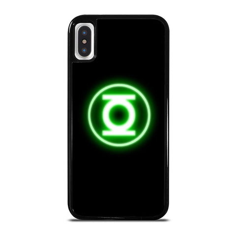 GREEN LANTERN LOGO iPhone X / XS Case - Best Custom Phone Cover Cool Personalized Design