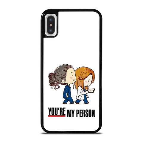 GREY' S ANATOMY MY PERSON-iphone-x-case-cover