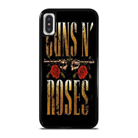 GUNS N ROSES LOGO-iphone-x-case-cover