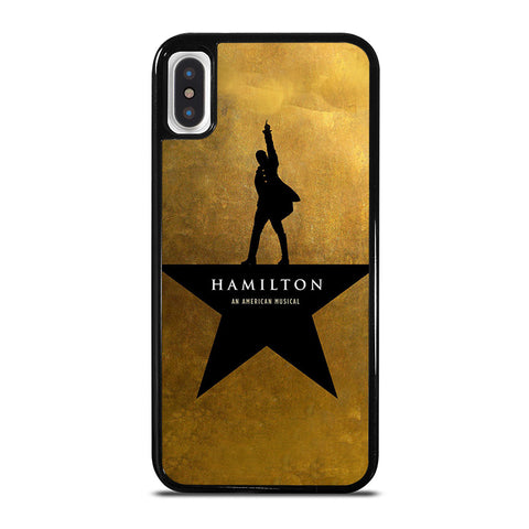 HAMAMILTON LOGO iPhone X / XS Case - Best Custom Phone Cover Cool Personalized Design