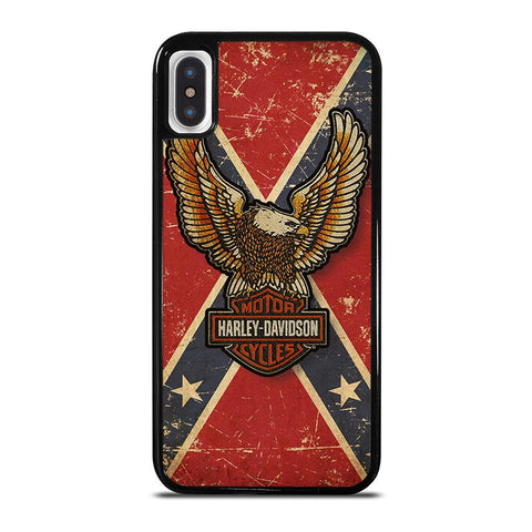 HARLEY-DAVIDSON-CONFEDERATE-STATE-iphone-x-case-cover