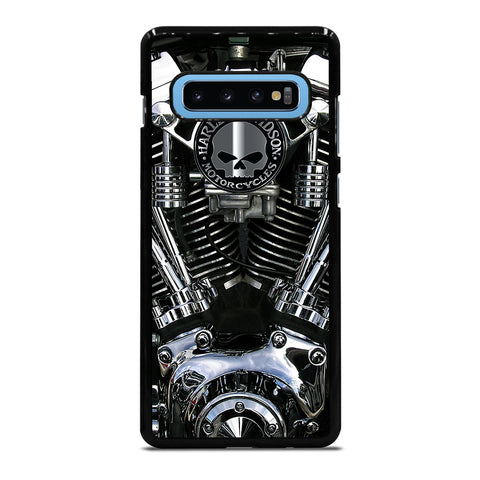 HARLEY DAVIDSON ENGINE 2 Samsung Galaxy S10 Plus Case - Best Custom Phone Cover Cool Personalized Design