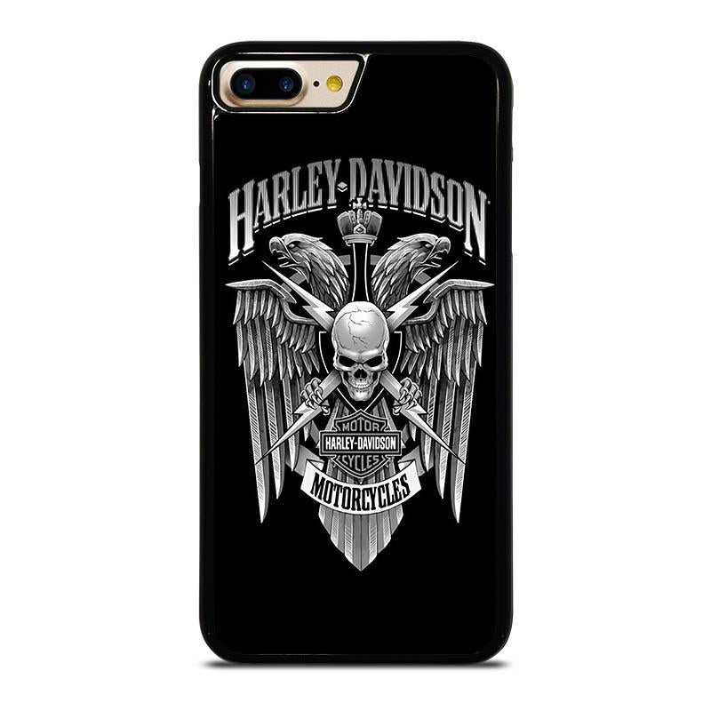 buy popular 2fd89 b4c2e HARLEY DAVIDSON SKULL EAGLE iPhone 7 Plus Case Cover - Favocase