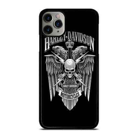 HARLEY DAVIDSON SKULL EAGLE-iphone-case-cover