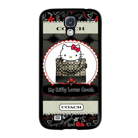 HELLO KITTY LOVES COACH-samsung-galaxy-S4-case-cover