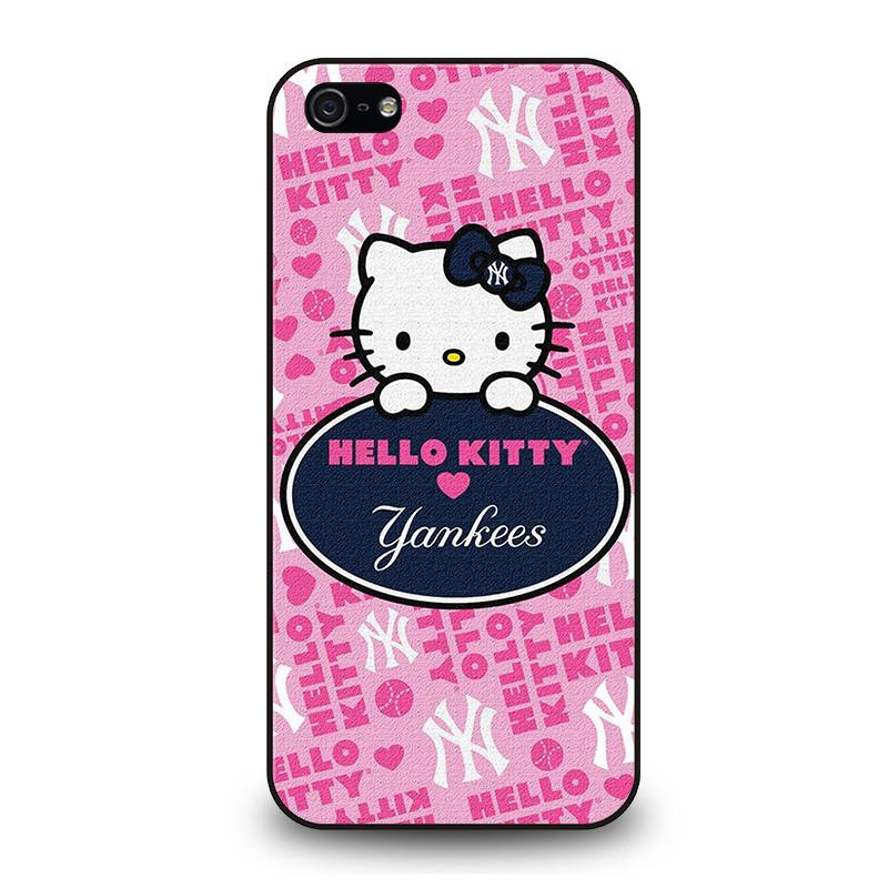 watch 274c3 77f81 HELLO KITTY NEW YORK YANKEES iPhone 5 / 5S / SE Case Cover - Favocase