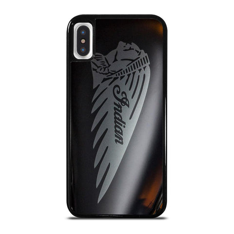 INDIAN MOTORCYCLE EMBLEM-iphone-x-case-cover