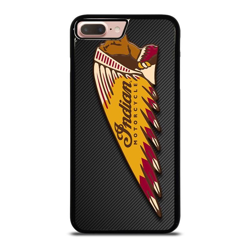 sports shoes 8588e 3bcb7 INDIAN MOTOR CYCLE CARBON LOGO iPhone 8 Plus Case Cover - Favocase