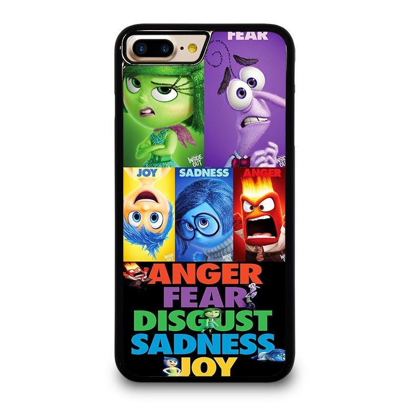 online store fb211 ad93c INSIDE OUT ALL CHARACTER Disney iPhone 7 Plus Case Cover - Favocase
