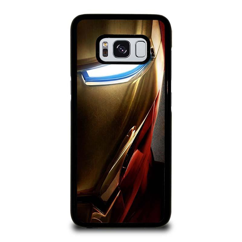official photos 7f63d 9cd19 IRON MAN FACE Samsung Galaxy S8 Case Cover - Favocase