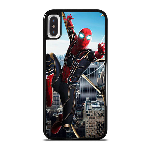 IRON SPIDER SPIDERMAN iPhone X / XS Case - Best Custom Phone Cover Cool Personalized Design