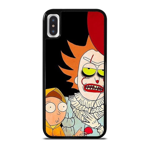 IT RICK AND MORTY,-iphone-x-case-cover