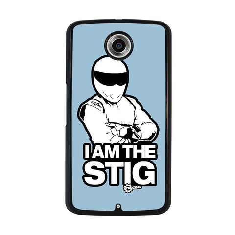 I-AM-THE-STIG-Top-Gear-nexus-6-case-cover