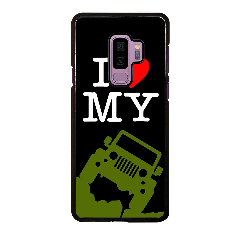 brand new 49bf7 94581 I LOVE MY JEEP Samsung Galaxy S9 Plus Case Cover - Favocase