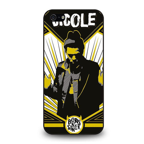 J.-COLE-BORN-SINNER-iphone-5-5s-case-cover