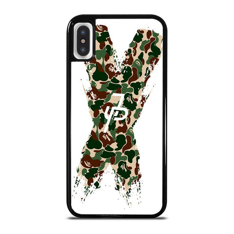 JAKE PAUL CROSS CAMO-iphone-x-case-cover