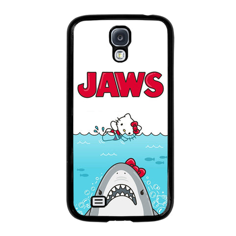 JAWS HELLO KITTY-samsung-galaxy-S4-case-cover