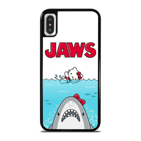 JAWS HELLO KITTY-iphone-x-case-cover