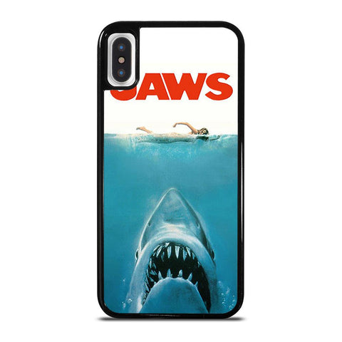 JAWS SHARK-iphone-x-case-cover