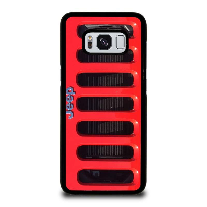 another chance ec03f 62b26 JEEP RED Samsung Galaxy S8 Case Cover - Favocase