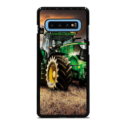 JOHN DEERE TRACTOR 2 Samsung Galaxy S10 Plus Case - Best Custom Phone Cover Cool Personalized Design