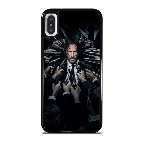 JOHN WICK KEANU REEVES-iphone-x-case-cover