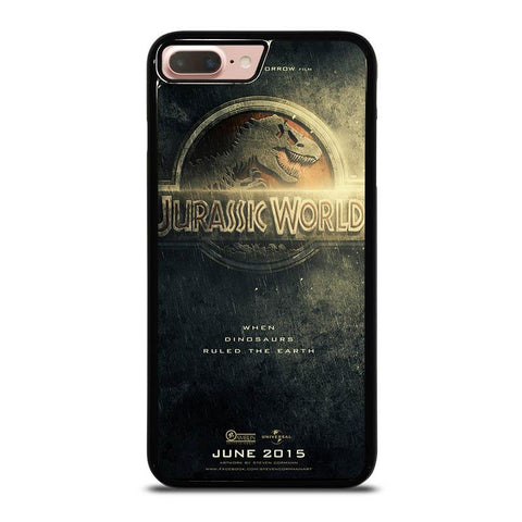 JURASSIC-WORLD-POSTER-iphone-8-plus-case-cover