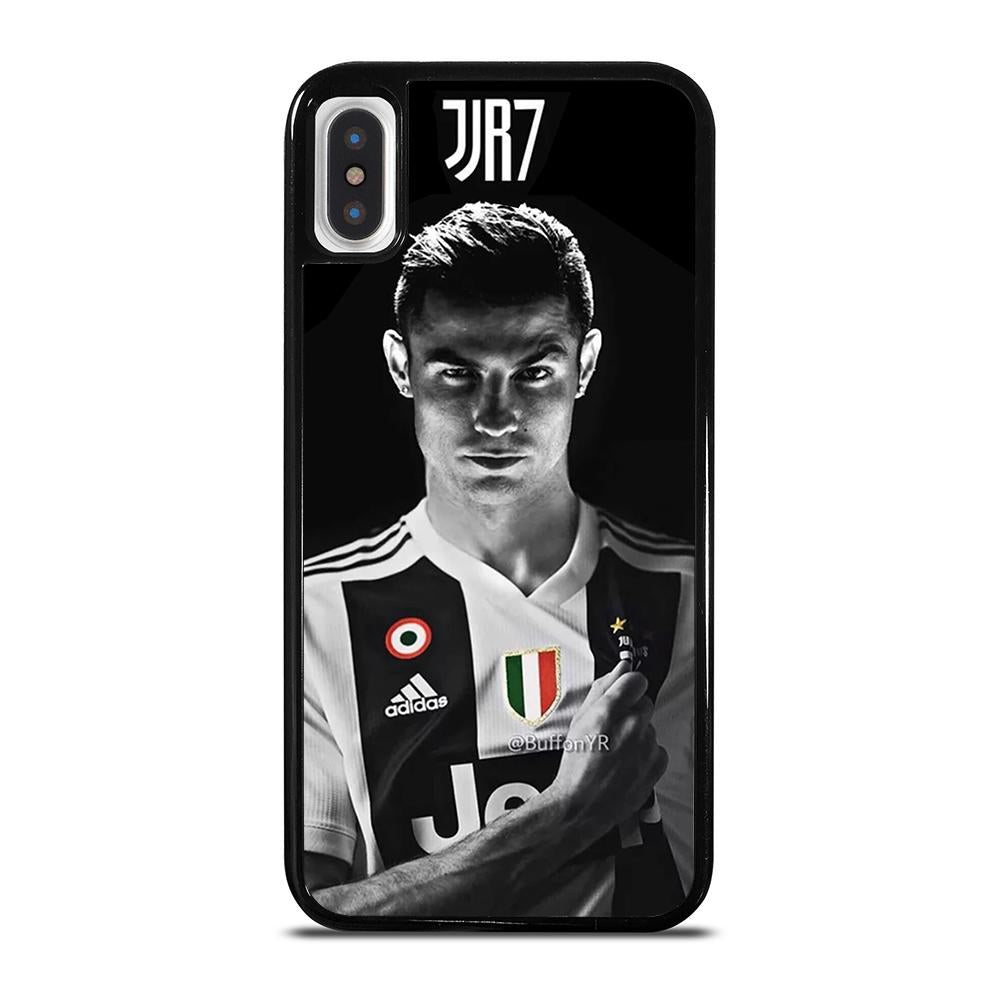 low priced e10d2 c8717 JUVENTUS CRISTIANO RONALDO CR7 iPhone X / XS Case Cover - Favocase