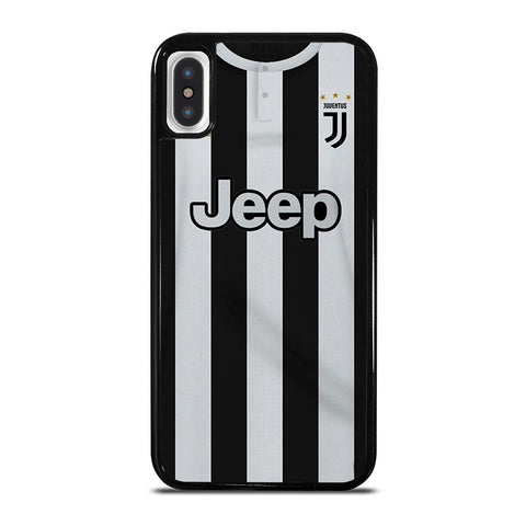 JUVENTUS JEEP FOOTBALL JERSEY KIT iPhone X / XS Case - Best Custom Phone Cover Cool Personalized Design