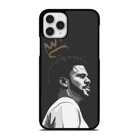 J COLE CLIPART-iphone-11-pro-max-case-cover