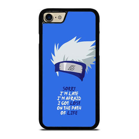 KAKASHI NARUTO QUOTE-iphone-7-case-cover