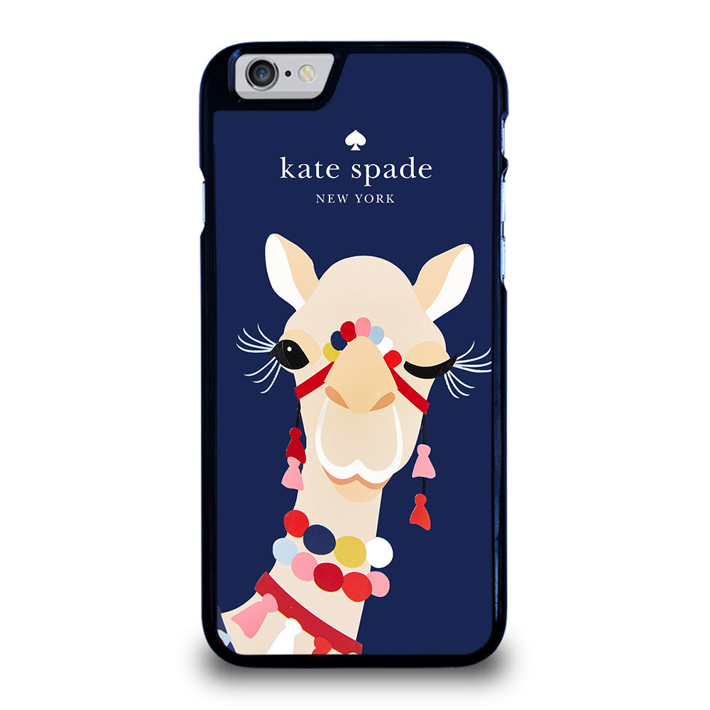the latest c5b96 86a73 KATE SPADE CAMEL APPLIQUE iPhone 6 / 6S Case Cover - Favocase
