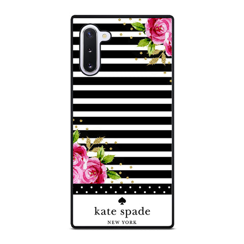 KATE SPADE FLORAL POLKADOTS-samsung-galaxy-note-10-case-cover
