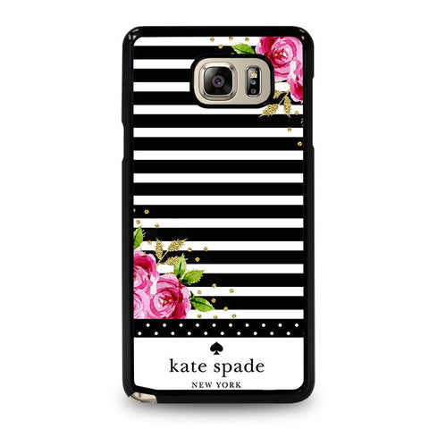 KATE SPADE FLORAL POLKADOTS-samsung-galaxy-note-5-case-cover
