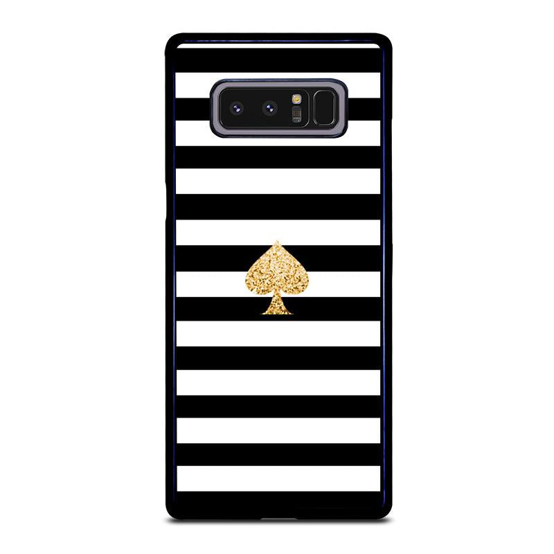 brand new 347dd 5e417 KATE SPADE GOLD AND STRIPES Samsung Galaxy Note 8 Case Cover - Favocase