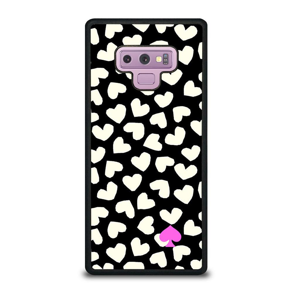info for 3563f 15b80 KATE SPADE LOVE HEART POLKADOTS Samsung Galaxy Note 9 Case Cover - Favocase
