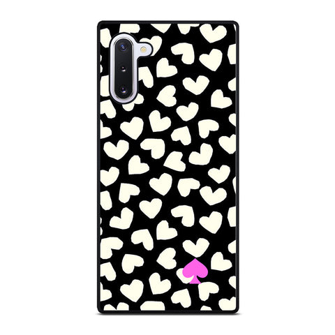 KATE SPADE LOVE HEART POLKADOTS-samsung-galaxy-note-10-case-cover