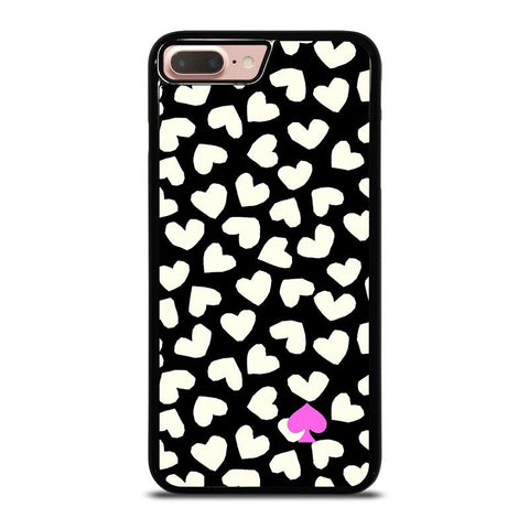 KATE SPADE LOVE HEART POLKADOTS-iphone-8-plus-case-cover