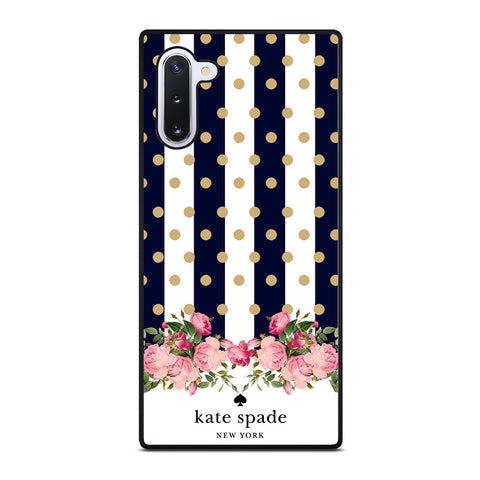 KATE SPADE NEW YORK POLKADOTS FLORAL-samsung-galaxy-s10-5g-case-cover