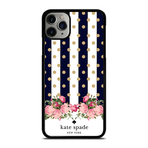 KATE SPADE NEW YORK POLKADOTS FLORAL-iphone-case-cover