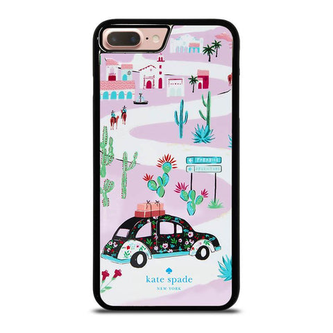 KATE SPADE NEW YORK ROAD TRIP-iphone-8-plus-case-cover