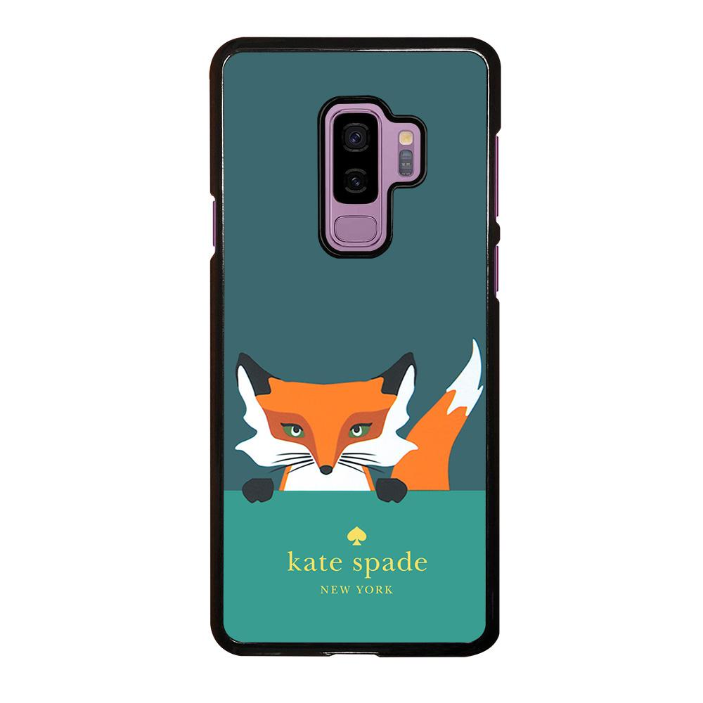 new concept d33d8 9b016 KATE SPADE NOVELTY FOX Samsung Galaxy S9 Plus Case Cover - Favocase
