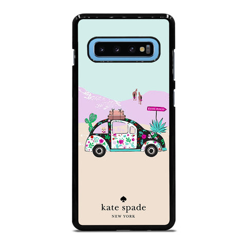 KATE SPADE ROAD TRIP Samsung Galaxy S4 S5 S6 S7 S8 S9 S10 S10e Edge Plus Note 4 5 8 9 Case Cover
