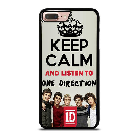 KEEP-CALM-AND-LISTEN-TO-ONE-DIRECTION-iphone-8-plus-case-cover