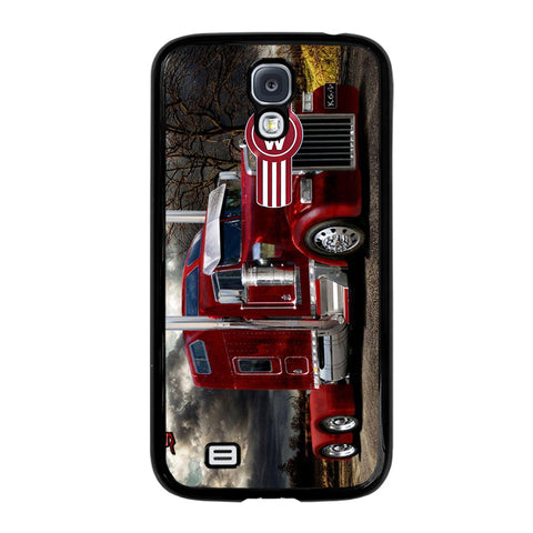 KENWORTH TRUCK RED-samsung-galaxy-S4-case-cover