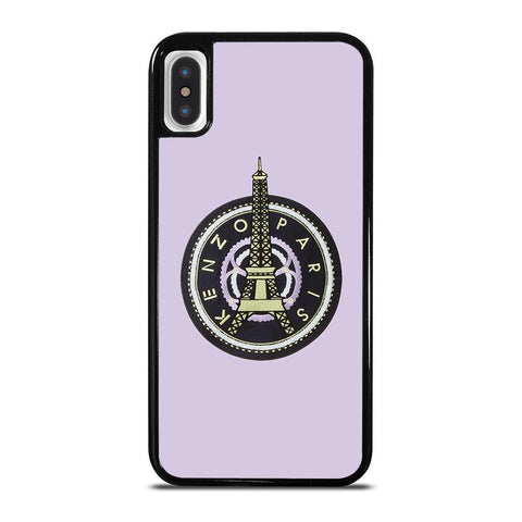 KENZO PARIS EIFFEL TOWER LOGO-iphone-x-case-cover